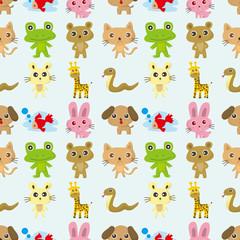 seamless pattern animal