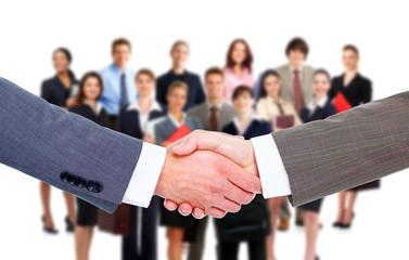 Business meeting. Handshake.