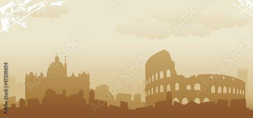 roma skyline - 47208654
