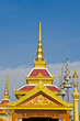 Some building in the royal cremation ceremony