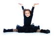 Child doing splits