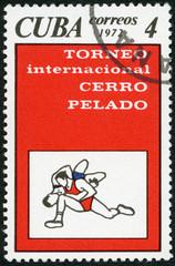 CUBA - 1972: Wrestling, Cerro Pelado International Tournament