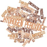 Word cloud for Hydrogen peroxide poster