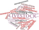 Word cloud for Livestock poster