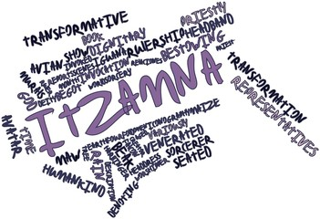 Word cloud for Itzamna