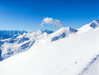 Alpine mountains under the snow in winter - 47211045