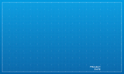 Wide blueprint background texture