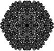 doily pattern background