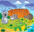 Australian animals theme 3