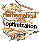 Word cloud for Mathematical optimization