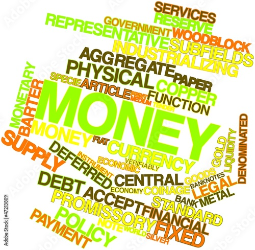 Word cloud for Money