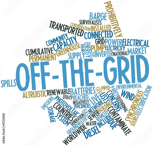 Word cloud for Off-the-grid