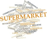 Word cloud for Supermarket