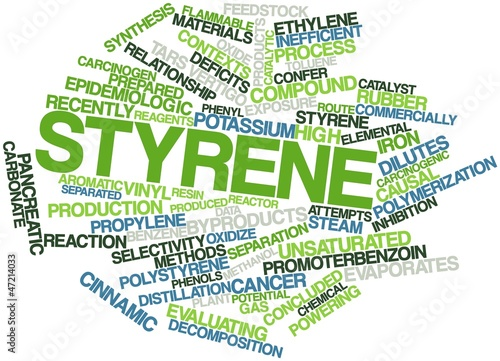 Word cloud for Styrene