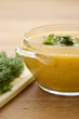 puree soup with Brussels sprouts