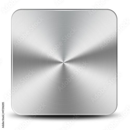 Bouton métallique - Concept
