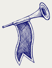 Fanfare. Doodle style