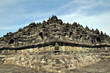 The temple of Borobudur