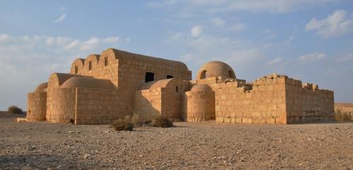 Quseir Amra desert castle