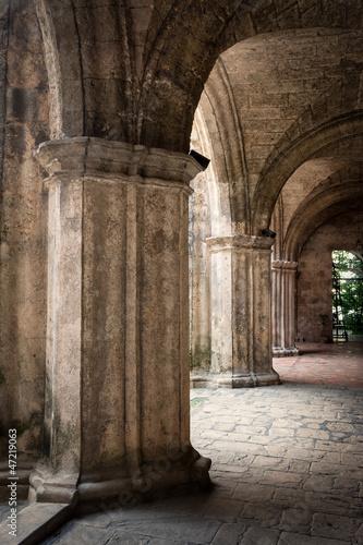 Ancient spanish convent in Old Havana