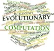 Word cloud for Evolutionary computation
