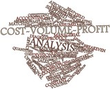 Word cloud for Cost-volume-profit analysis