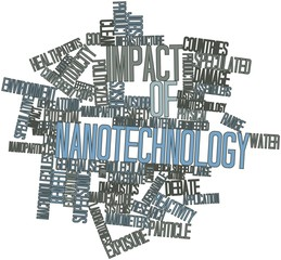 Word cloud for Impact of nanotechnology