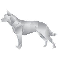Papier Hund