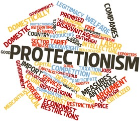 Word cloud for Protectionism