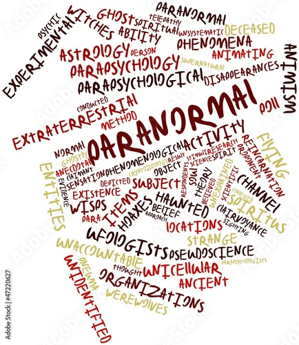 Word cloud for Paranormal
