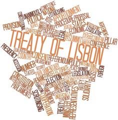 Word cloud for Treaty of Lisbon