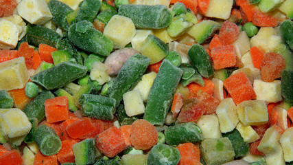 verdure surgelate per minestrone