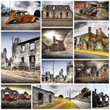 oradour sur glane collage