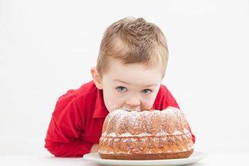 Junge Kuchen