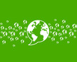 thinking green, environment world communication