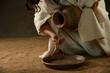 Obrazy na płótnie, fototapety, zdjęcia, fotoobrazy drukowane : Jesus pouring water