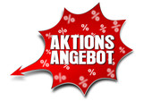 Aktionsangebot, Vektor