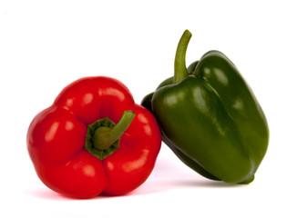 Roter und Grüner Paprika II