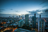 Makati skyline Phillippines
