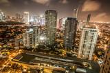 Fototapety Makati skyline Phillippines