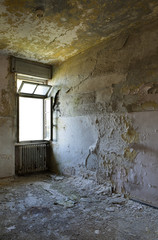 old room with window
