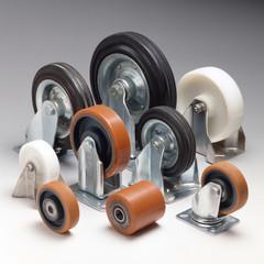 ruote per carrelli