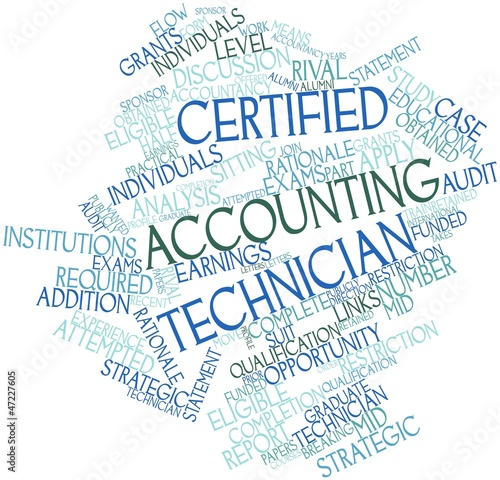 Word cloud for Certified Accounting Technician