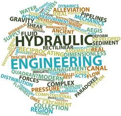 Word cloud for Hydraulic engineering