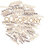 Word cloud for Oligopsony