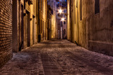 Fototapety dark alley in the old town
