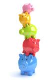 Fototapety Balance Sparschweine