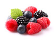 Ripe berry in closeup