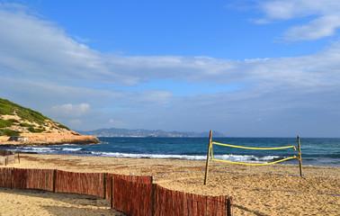 Playa de Es Cavallet, Ibiza, España