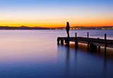 Fototapeta osoba - kobieta - Woda / Plaża